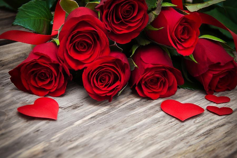 Bald ist Valentinstag!